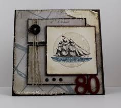 karrenj stamping stuff 80th birthday card