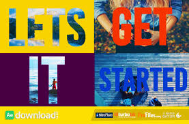 colorful opener dynamic titles videohive template free
