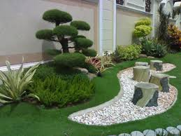bonsai garden the beautiful garden bonsai and white pebbles as inspiration beautiful design grass and tile for your garden decoration home simple garden design ideas with green grass and beautiful stone chairs