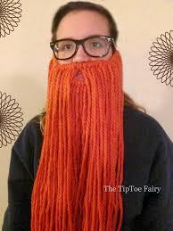 rafiki halloween costume how to make a yarn beard the tiptoe fairy