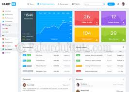 download bootstrap 4 admin dashboard template free wordpress