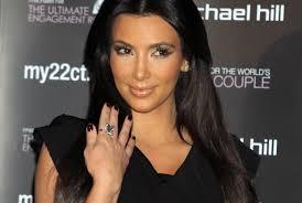 Kim Kardashian Wedding Ring by Kim Kardashian U0027s Wedding Ring Not Worth 2 Million Rumorfix