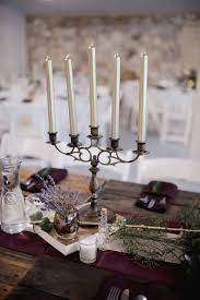 candle runners candelabra metallic candles eggplant runners chagne runners