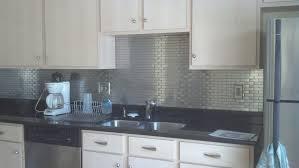 backsplash top kitchen with metal backsplash design ideas modern