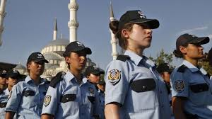 turkey allows policewomen to wear muslim headscarf bbc news