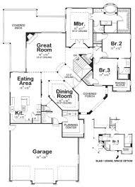 mediterranean style house plan 3 beds 3 baths 2506 sq ft plan