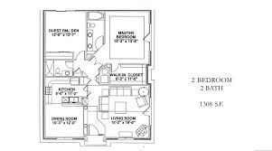 two bedroom cottage floor plans independent living community near raleigh windsor point