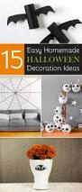 easy homemade halloween decoration ideas