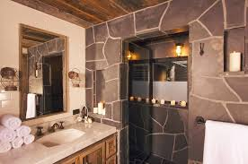 Rustic Cabin Bathroom - western and rustic bathroom decor ideas bathroom furniture lodge
