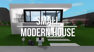 roblox welcome to bloxburg small modern house youtube
