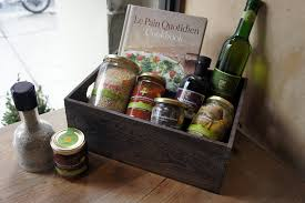 olive gift basket build a gift basket for the holidays le quotidien bakery