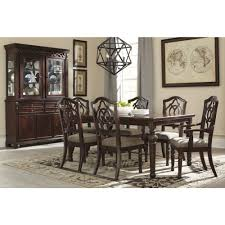 ashley furniture leahlyn rectangular dining extension table set in