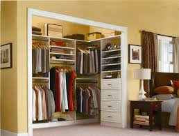 Clothing Storage Solutions by How To Frame A Closet For Bifold Doors Build Wardrobe Plans Small