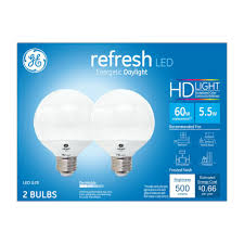 Led Blue Light Bulb by Daylight Globe Led Light Bulbs Light Bulbs The Home Depot