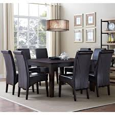 Black Dining Room Chairs Simpli Home Kitchen U0026 Dining Room Furniture Furniture The