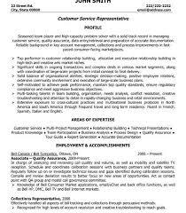 download customer service representative resume sample