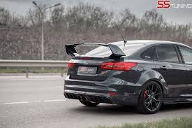 2013 ford focus st upgrades ford focus st sedan by ss tuning has an sti wing