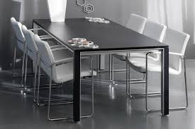 Dining Table Modern Black Dining Table Pythonet Home Furniture - Black and white contemporary dining table