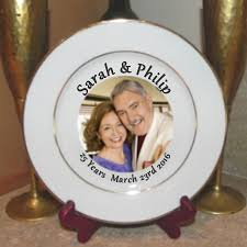 anniversary plate personalized plates and keepsake gifts