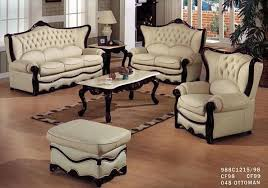 Victorian Sofa Set by Leather Living Room 988 Victorian Furniture