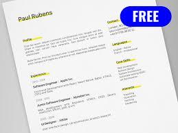 adobe resume template cv resume template for adobe illustrator freebie supply