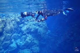 jeep snorkel underwater snorkeling in silfra fissure from reykjavik arctic adventures