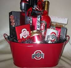 ohio gift baskets the ohio state gate basket complete with everything need to