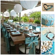 Baby Shower Table Ideas by Baby Shower Table Decor Inspiration Beach Bridal Shower Collage