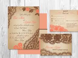 Wedding Invitations San Antonio Wedding Invitations Printable Lace Coral Springs Suite By