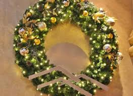 outdoors wreaths clearance home depot for front door