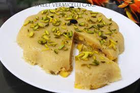 easy dessert recipes vermicelli banana cake no bake