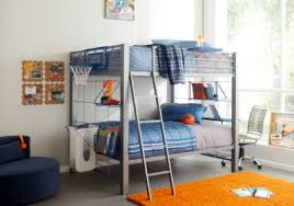 Build A Bunk Bed Build A Bunk Gray 2 Pc Bunk Bed Bunk Loft Beds Metal