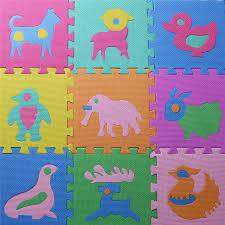 tappeti puzzle bambini starz 10 pz set sviluppo morbido per bambini strisciare tappeti