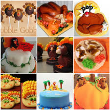 dabbled thanksgiving creative cakes and