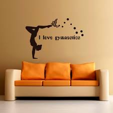 compare prices on wall quote gymnastics online shopping buy low hot new i love gymnastics art quote wall decal decor room stickers vinyl removable paper mural