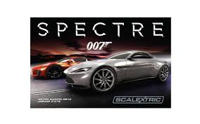 Spectre Film by Scalextric C1336 James Bond 007 Spectre Film Slot Car Set