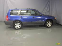 blue subaru forester 2003 2003 pacifica blue metallic subaru forester 2 5 x 31900718 photo