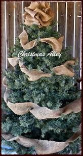 christmas tree topper burlap tree topper bow topper burlap