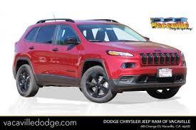 jeep red 2017 2017 jeep cherokee altitude in vacaville ca sacramento jeep
