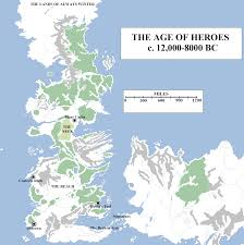 Ice And Fire Map Historical Map 3 The Age Of Heroes U0026 The Long Night Atlas Of