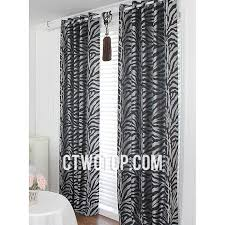 And Black Fabric For Curtains Modern Fancy Fabric Affordable Silver And Black Zebra Print Curtains