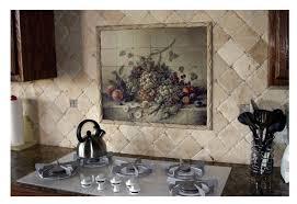 Italian Kitchen Backsplash Amazing 20 Ceramic Tile Murals For Kitchen Backsplash Inspiration