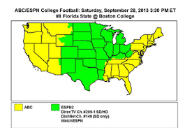 Map Of Florida Colleges by Boston College Vs Florida State How Are We Watching Bc