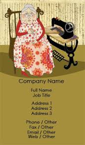 sewing cards templates business card templates vintage