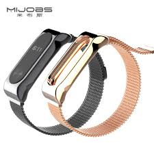 stainless steel bracelet strap images Mijobs metal strap for xiaomi mi band 2 screwless stainless steel jpg