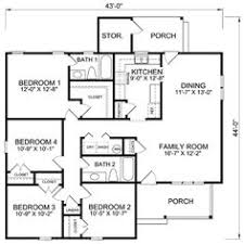 cheap 4 bedroom house plans low cost 4 bedroom house plans homes floor plans