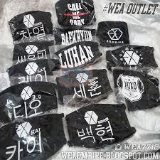 Masker Exo masker kpop exo we a outlet we a kpop shop