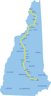 New England States Map by Understanding The Northern Pass Project In New Hampshire