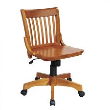 Leather And Wood Chair What Type Of Material Should I Choose For My Office Chair