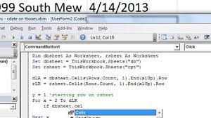 excel vba tips n tricks 25 comparing textbox dates in worksheet